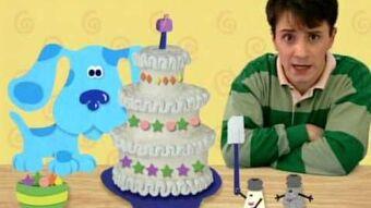 Marvelous Mailboxs Birthday Blues Clues Wiki Fandom Personalised Birthday Cards Fashionlily Jamesorg