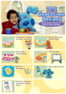 Blue's Room Nick Jr. Antonio Ortiz Polka Dots Frederica Roary Roar E. Saurus Recipes