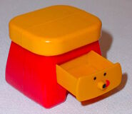 Blue's Clues Sidetable Drawer Toy - Subway 2000