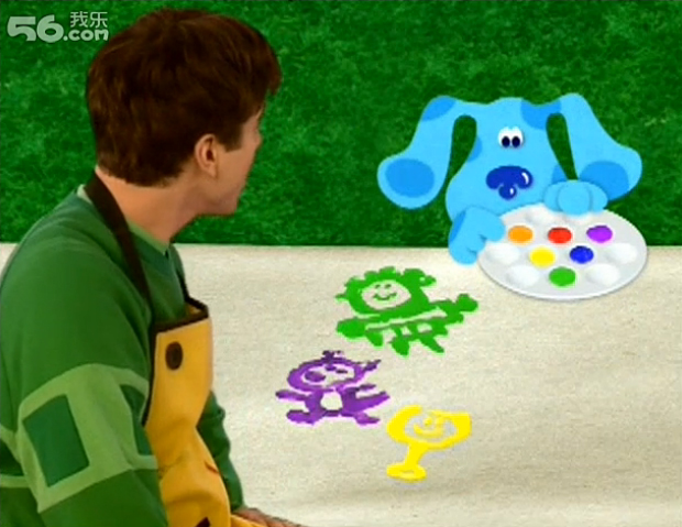 blues clues green puppy plush. Colors Everywhere 036.jpg Blues Clues Green Puppy Plush R