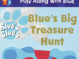 Blue's Big Treasure Hunt (VHS)