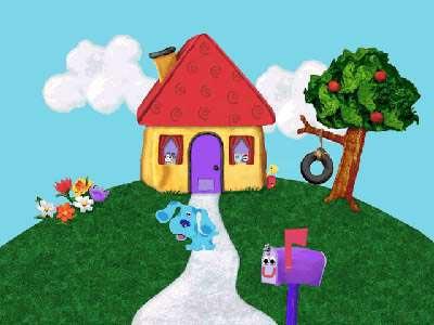 Blue S Clues House A K