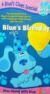 Blue's Clues, Blue's Birthday (VHS, 1998) (1999 Artwork)