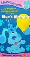 Blue's Clues, Blue's Birthday (VHS, 1998) (1999 Artwork)