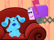 Blue's Clues Mailbox and Blue