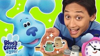 Play Blue's Clues and Meet Mr. Salt and Mrs. Pepper's NEW Babies! Blue's Clues & You!