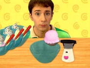 Blue's Clues Mr. Salt with Ice Cream