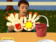 Blue's Clues Pail Thankful Book