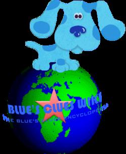 Blues Clues Wiki Earth logo