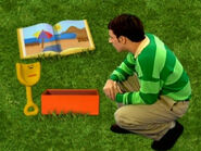 Blue's Clues Shovel with Empty Box