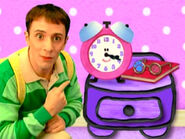 Blue's Clues Tickety Tock with Glasses Clue