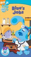 Blue's Jobs VHS