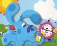 Blues Clues Tickety Tock and Blue Sunny Day