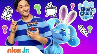 Halloween Hide & Seek w Josh & Blue! 👻 Blues' Clues Games Blue's Clues & You!