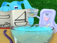 Blue's Clues Slippery Soap with Toy Boat