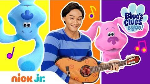 """What I Like About Blue"" Blue's Clues Sing Along Nick Jr"