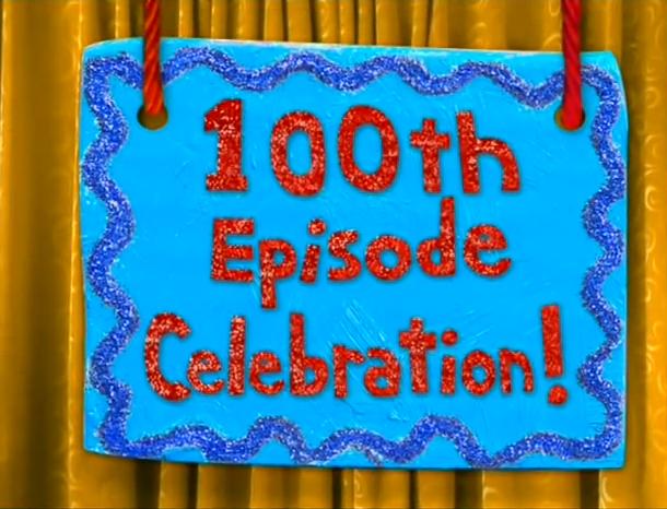 Image 100th Episode Celebration Title Cardjpg – Blues Clues Birthday Card