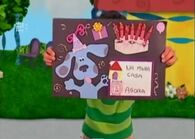 Pistas Da Blue Birthday Card