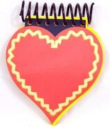 Blue's Clues Heart Shaped Handy Dandy Notebook