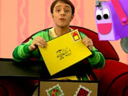 Blue's Clues Mailbox with Steve s Letter Collection