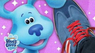How to Tie Your Shoes w Josh & Blue! Blue's Clues & You!