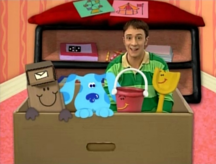 The Anything Box Blues Clues Wiki Fandom Powered By Wikia