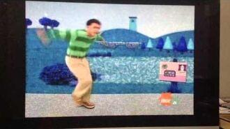 Blue's Clues Skidoo Back Home - Book All About The Colour Blue