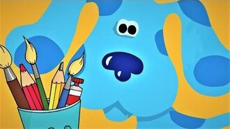 Blue's Clues - Blue's Art Time Activities