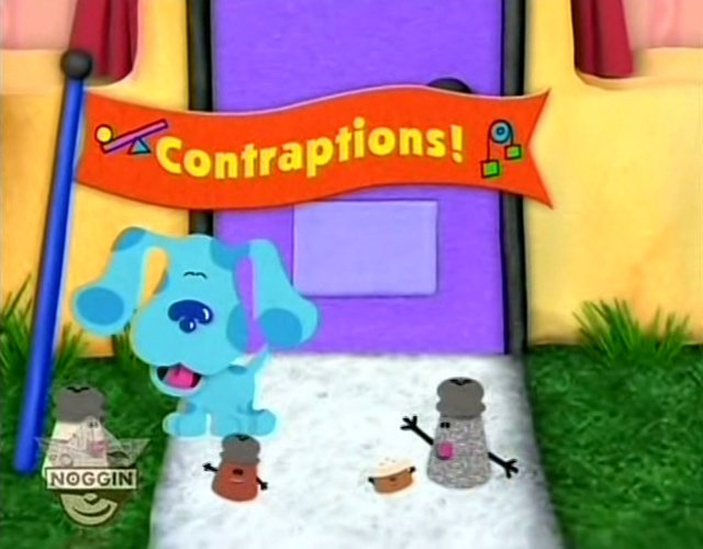 Contraptions Blue S Clues Wiki Fandom Powered By Wikia