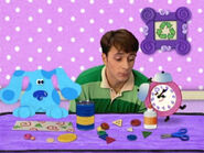Blue's Clues Tickety Tock Crafts