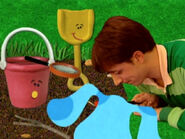 Blue's Clues Pail and Shovel Outside
