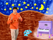 Joe, Blue, and Piano at Night