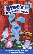 Blue's Clues, Blue's Big Musical Movie (VHS, 2000)