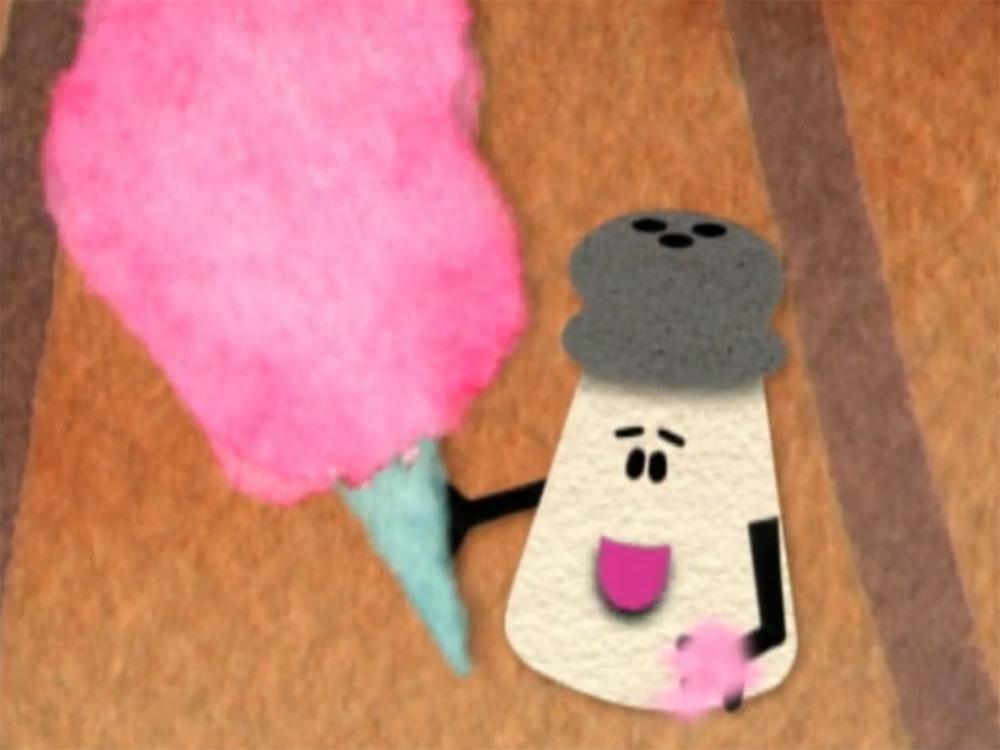 mr salt blues clues. Blue\u0027s Clues Mr. Salt With Cotton Candy.jpg Mr Blues E