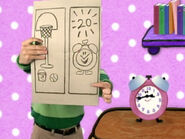 Blue's Clues Tickety Tock Drawing