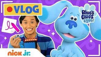 Blue's Clues & You Nursery Rhymes, Guess the Picture Game & ASL FUN! (Vlog 7) Nick Jr.