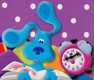Blues Clues Tickety Tock and Blue Reading