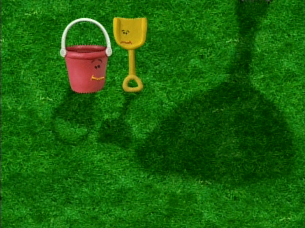 shovel and pail blues clues. Blue\u0027s Clues Shovel And Pail Shadows.jpg Blues I