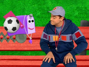 Blue's Clues Mailbox with Soccer Ball