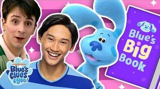 Story Time with Josh & Blue 📖Blue's Adventures with Steve! Blue's Clues & You!