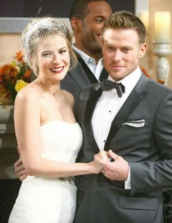 Rick and Caroline married