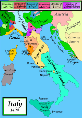 File:Map of Italy, 1494.png
