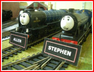 Allen and Stephen Nameboards