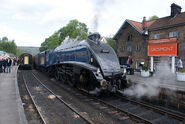 60007 - Sir Nigel Gresley at Grosmont, North Yorkshire Moors Railway