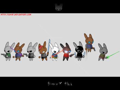 Bunny Kill wallpaper by XXN RF