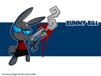Bunny Kill Smoke by Astrozerk04