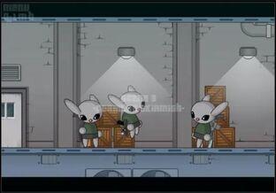 Three Minions on their break