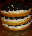 Blackberry cake 1