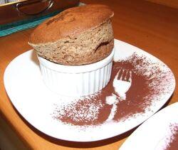 Choco souffle