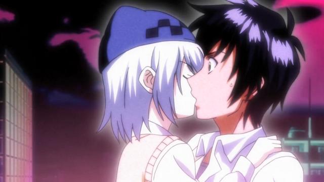 File:Athena kisses Godou.png